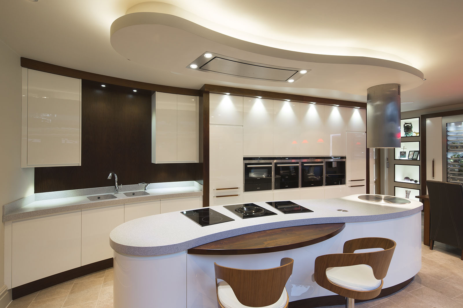 Milano Kitchen By Acanthus Design Featuring Corian Kitchen Worktops