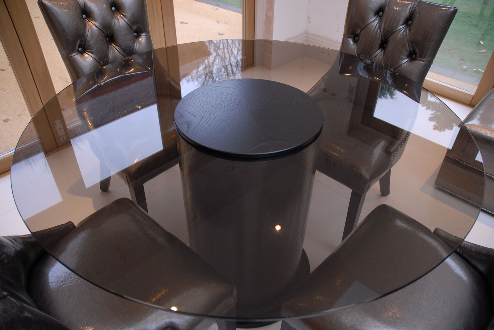 Bespoke tables designed handmade to order Bespoke glass furniture