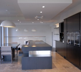 Acanthus Kitchen With Quartz Silestone Worktops
