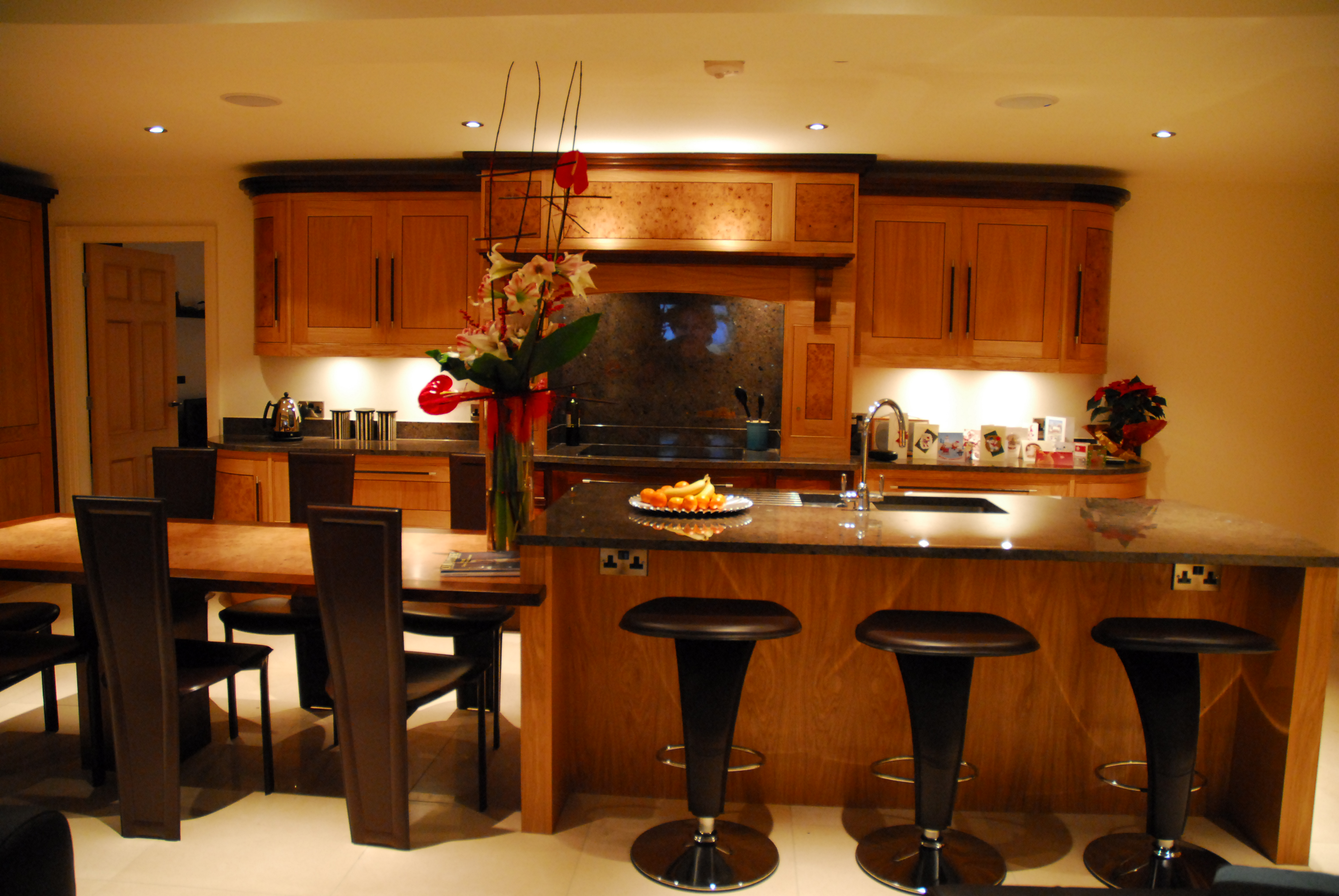 The Barcelona Kitchen By Acanthus Featuring Oak Amp Walnut