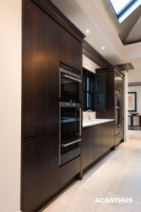 Zen Kitchen, Walnut, Handless, Granite, Sleek, Designer