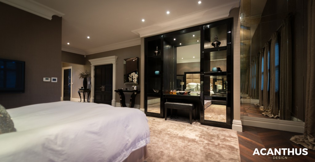 Zen Bedroom Black Fitted Luxury Bespoke Funriture