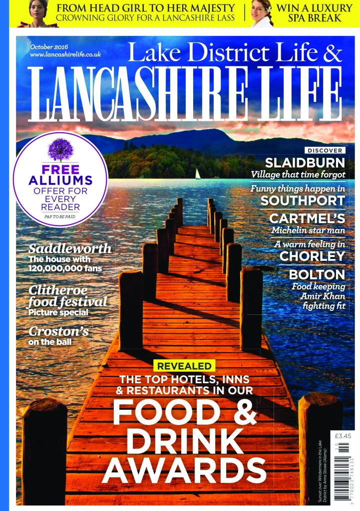 Lancashire Life October Edition Press Release Showcasing Acanthus Design Kitchen