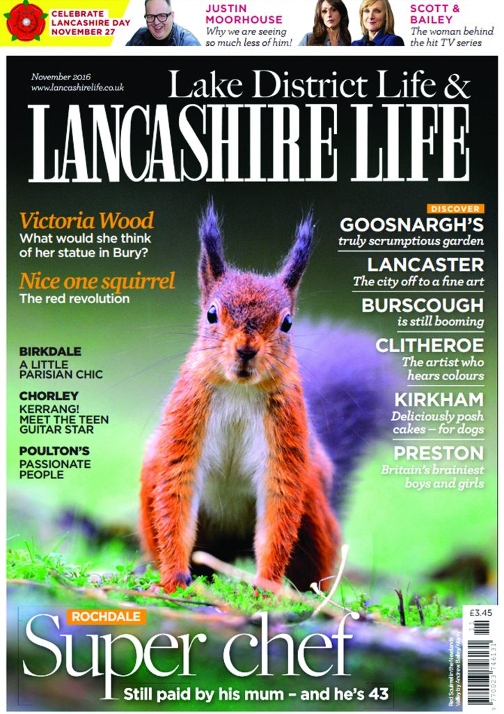 Lancashire Life November Edition Press Release Showcasing Acanthus Design Kitchen