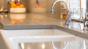 English Classic Kitchen Featuring Belfast ceramic kitchen sink